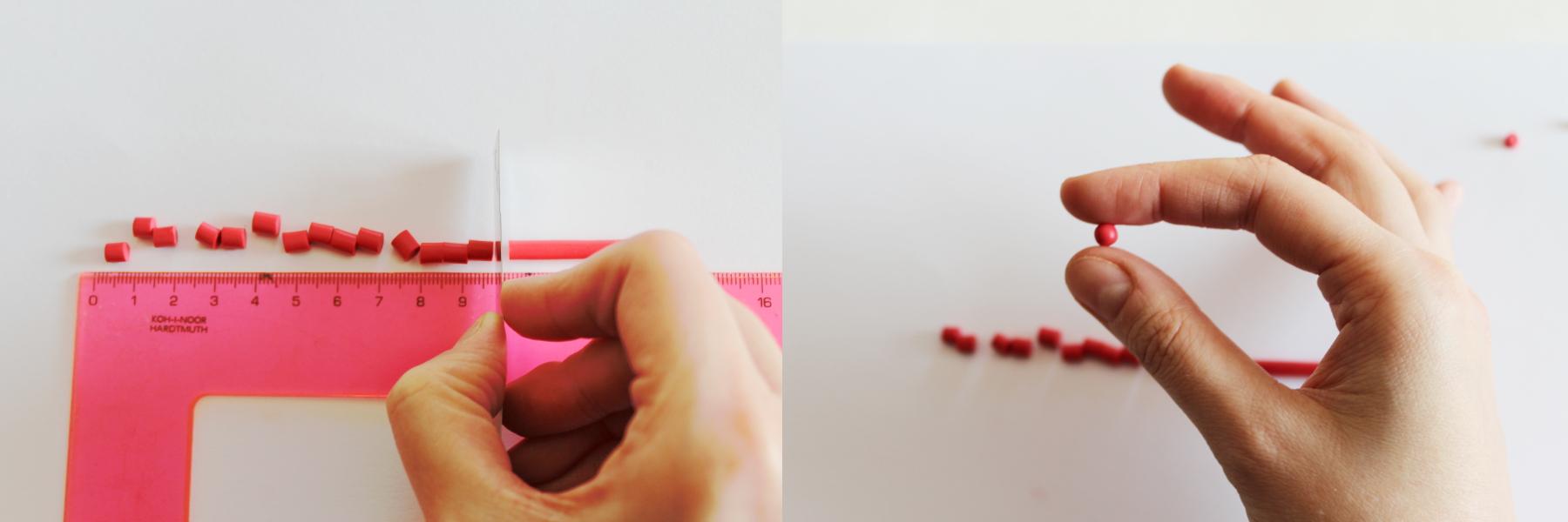 valentine rose polymer clay tutorial 4