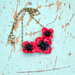 9 poppy flower polymer clay jewelry ideas