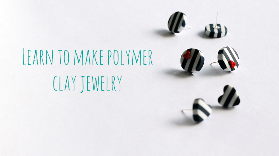 learn to make polymer clay jewelry