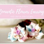 Romantic Flowers | Polymer Clay Earrings Step by Step Tutorial