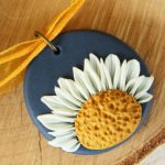 VIDEO: Daisy Pendant | Polymer Clay for Beginners