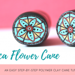 Inca Flower Cane | Polymer Clay Cane Step by Step Tutorial