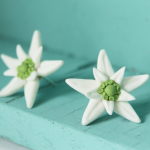 VIDEO: Edelweiss Earrings | Modeling from Polymer Clay