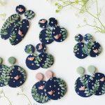VIDEO: Polymer Clay Birdie Earrings | Slab Tutorial