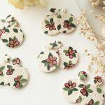 VIDEO: Easy Polymer Clay Flower Earrings | Slab Tutorial