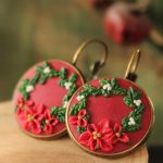 Polymer Clay Christmas Earrings | 3x Video Tutorial